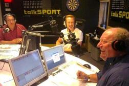 Alan Brazil presenting on talkSPORT